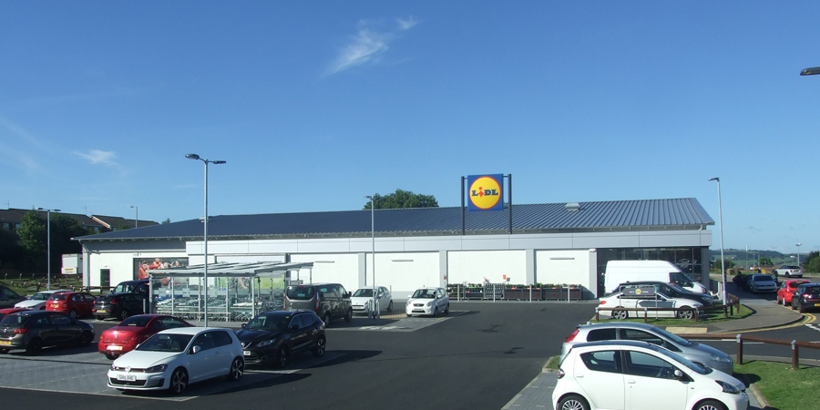 Refurbishment & Extension, Lidl, East Kilbride click on thumbnails to view larger images
