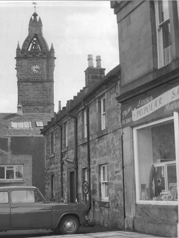 9 Montgomery Street, East Kilbride, April 1963 ©  Herald & Evening Times Group
