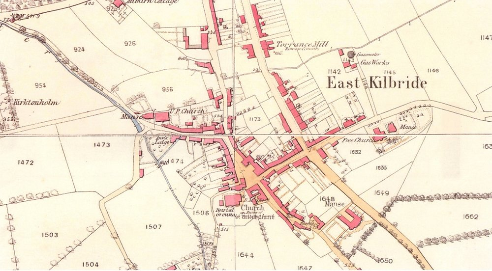 Historic Map East Kilbride Village.jpg