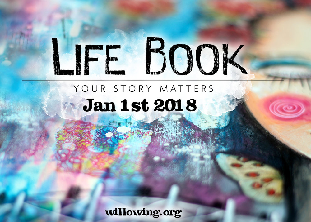 I am honoured to be part of the incredible teacher line-up for Life Book 2018. Click here for registration details. You won't want to miss out on this beautiful offering. It's jam-packed with lessons in mixed-media art and health and wellbeing.