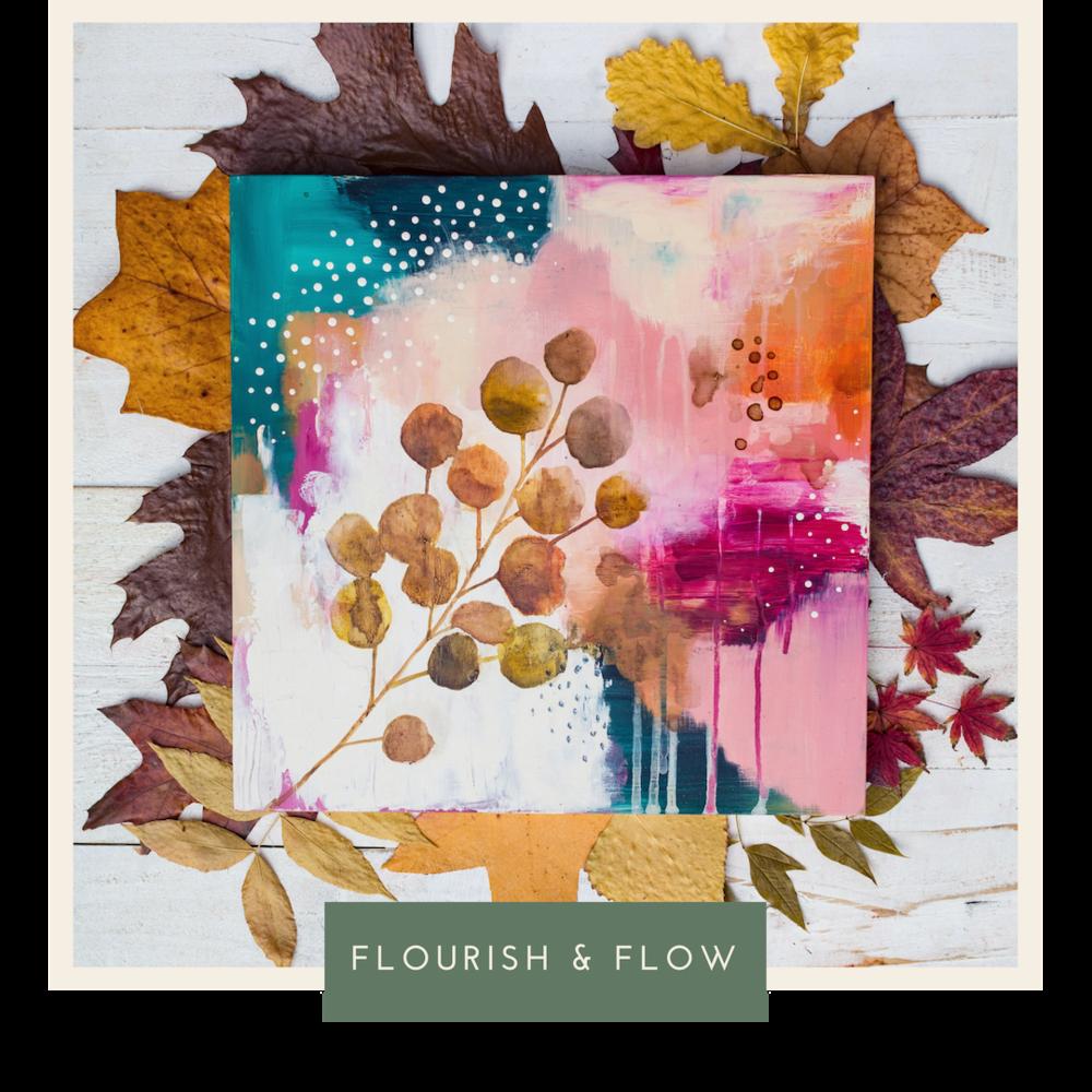 https://classes.laurahornart.com/p/flourish-and-flow