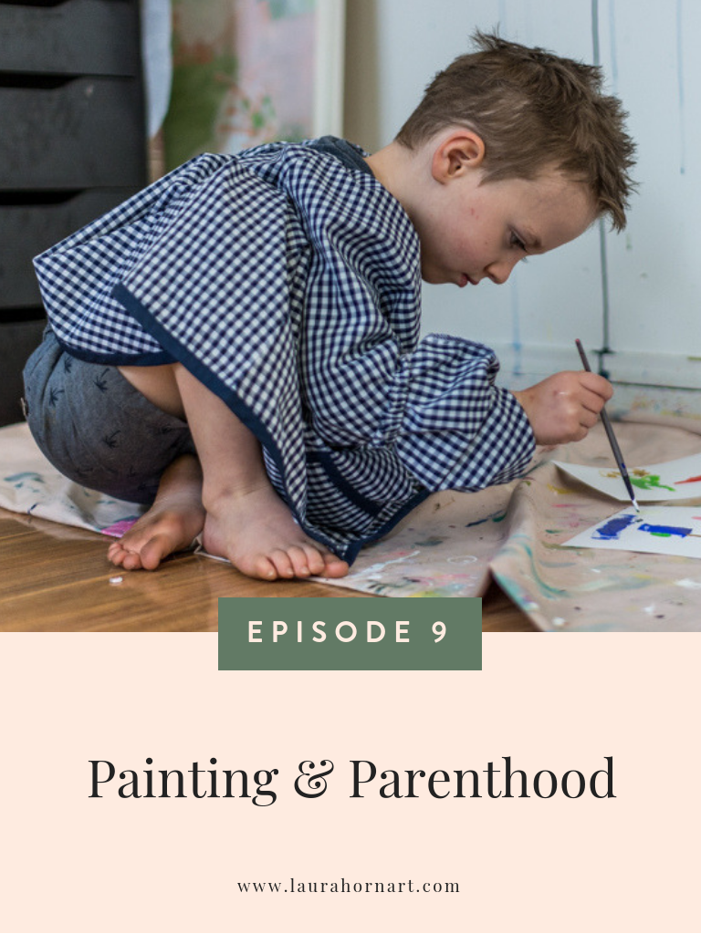 painting and parenthood