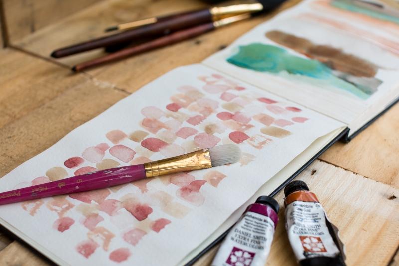 Moleskine watercolour journal