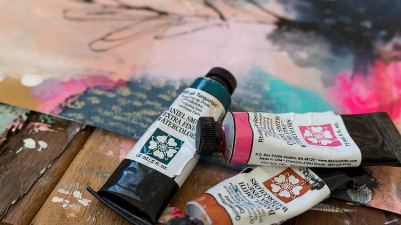 Daniel Smith Watercolour Paints