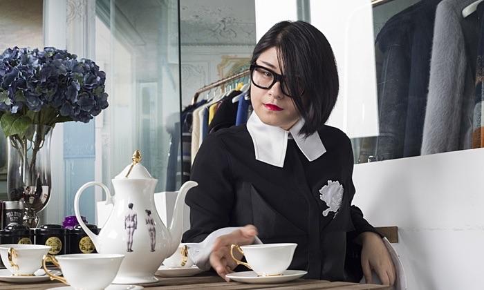 Shanghai designer of the moment Masha Ma