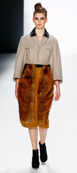 Zukker - fur skirt