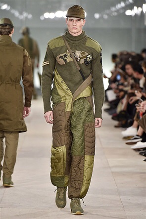 Maharishi - military greens