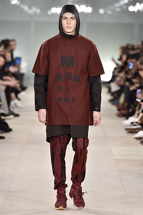 Oversized and layered. Maharishi