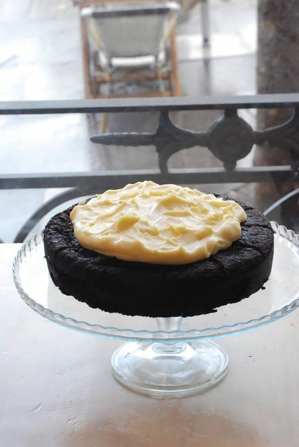 Harina Madrid -new recipe 'Dark Beer cake '.