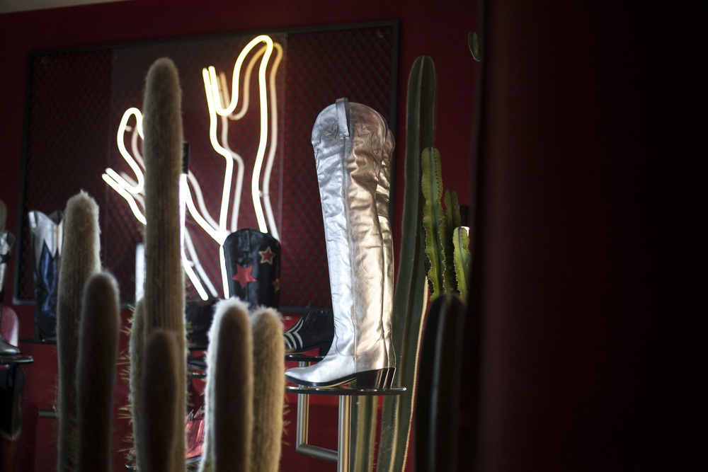 Silver - thigh high boot - Chiara Ferragni