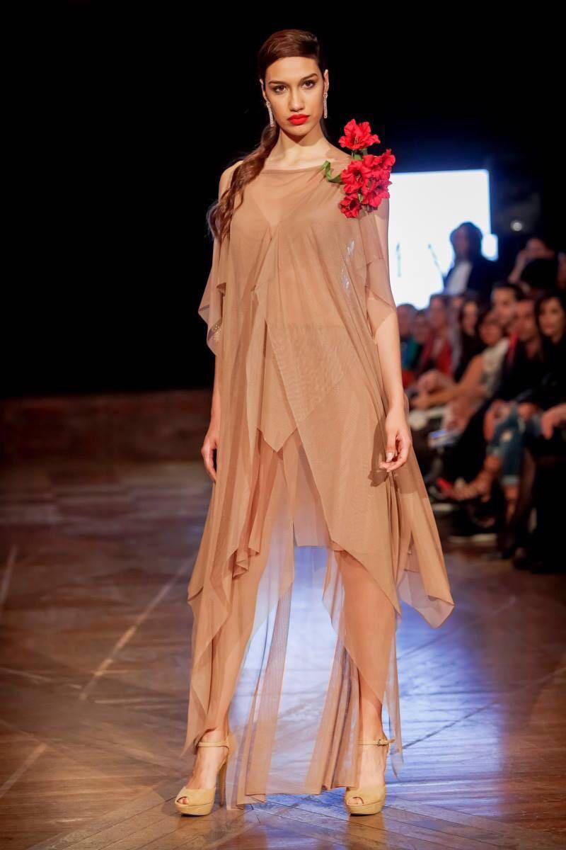 Nude silk Lycra - Pedro Palmas - photo Sergio Bolaños.