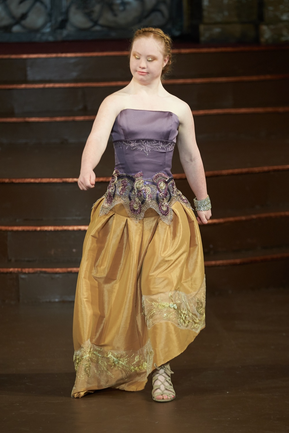 Josefa da Silva on  Madeline Stuart famous world model with Down Syndrome - photo social network.