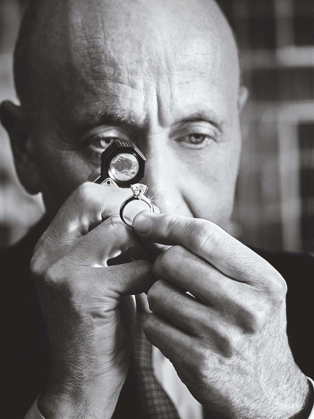 Kirtley gemologist - Tiffany & Co - Artisan at work