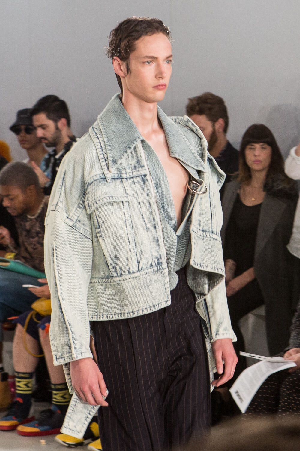Oversized denim jacket - Ximon Lee