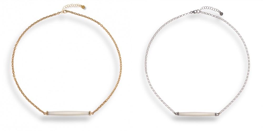 Bone Dakota necklace - Hissia