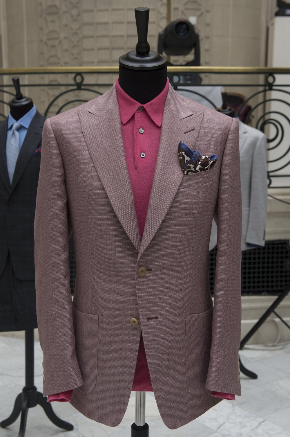 Chester Barrie - dusky pink.