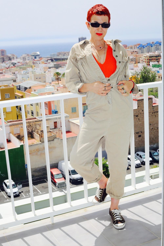 Katharine Hamnett my 80's boiler suit