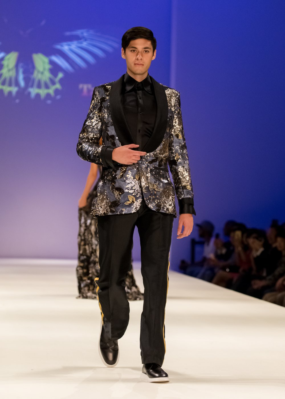 Red carpet menswear - Malan Breton