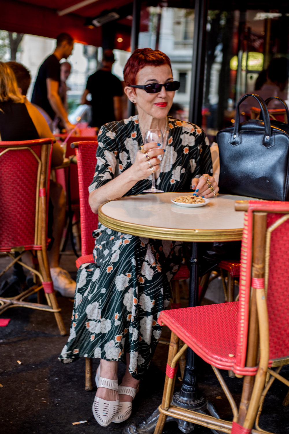 Kir Royale at Brasserie Le Grand Palais Paris