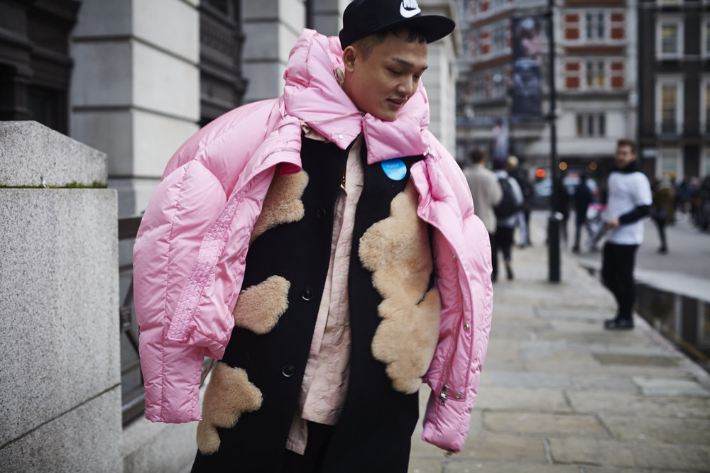 Street Style LondonCollections Men by Muffdal Abbas