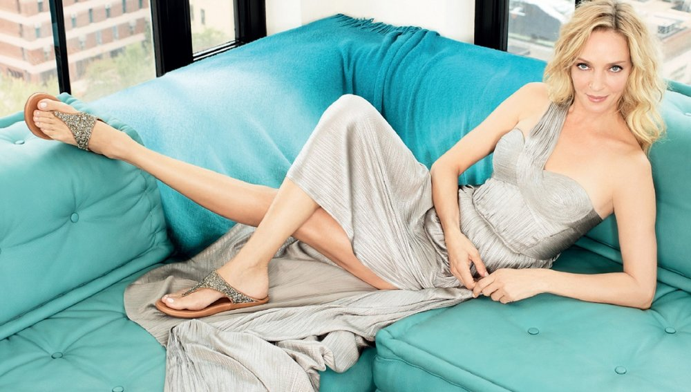 Uma Thurman - fit flop campaign