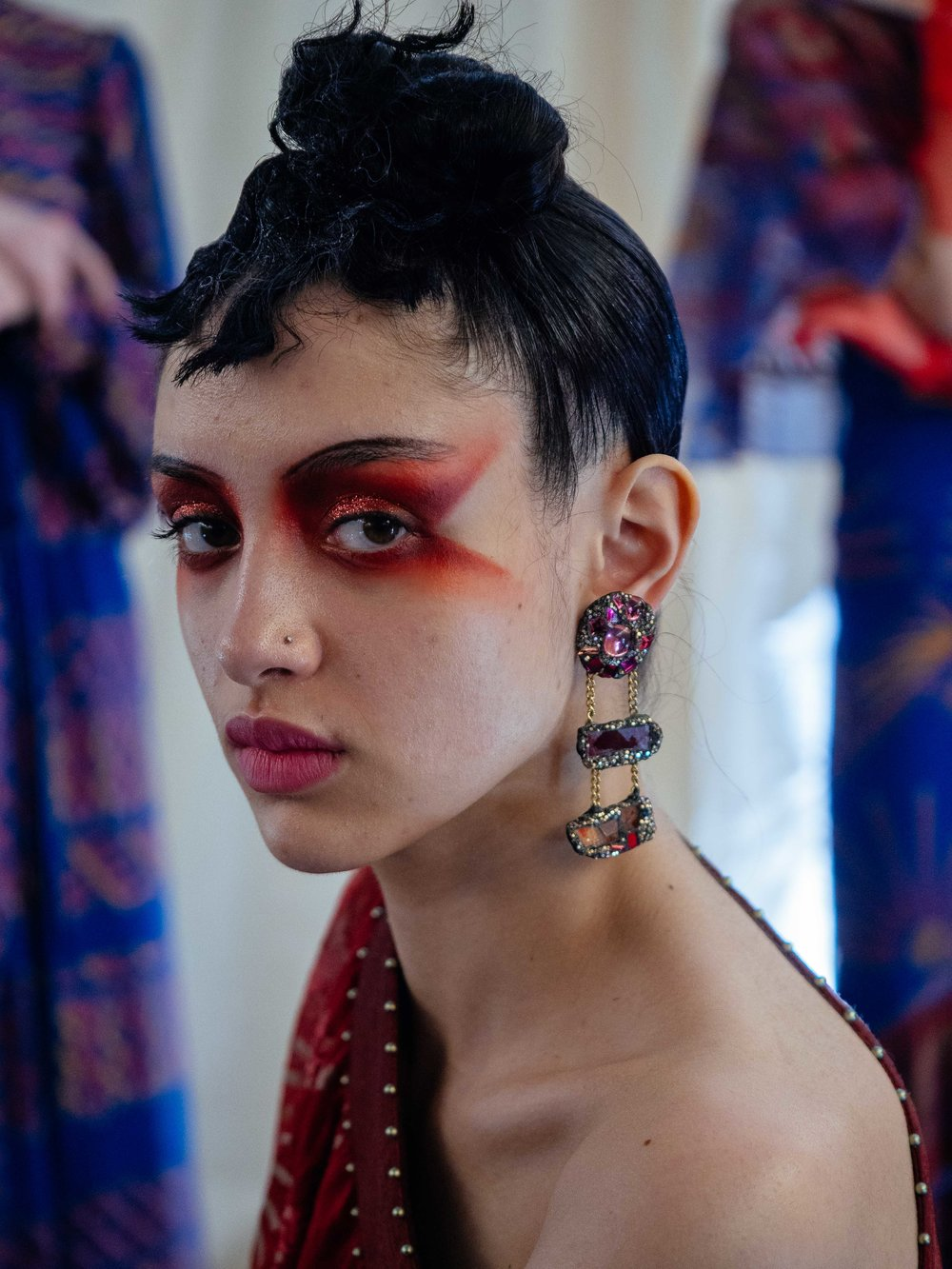 Zandra Rhodes - foto Bojidar Chkorev