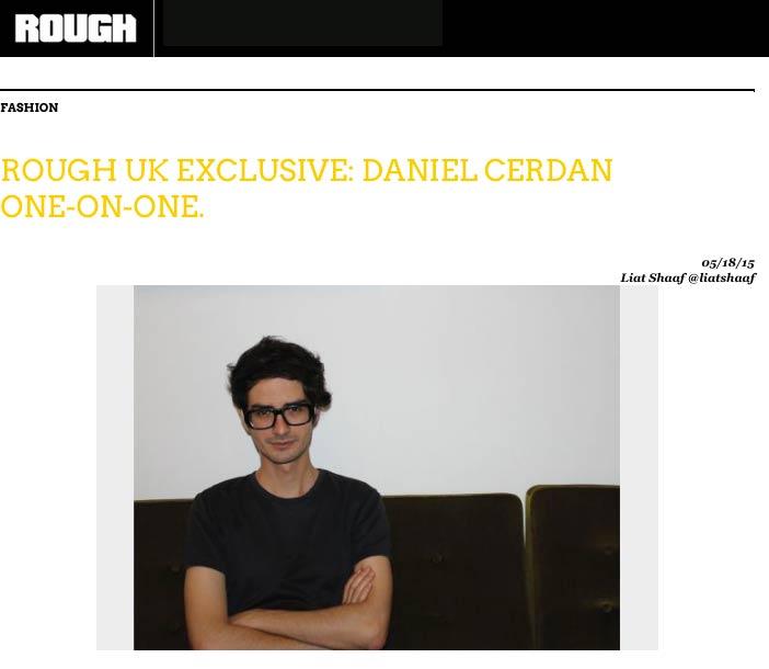Rough Magazine interview