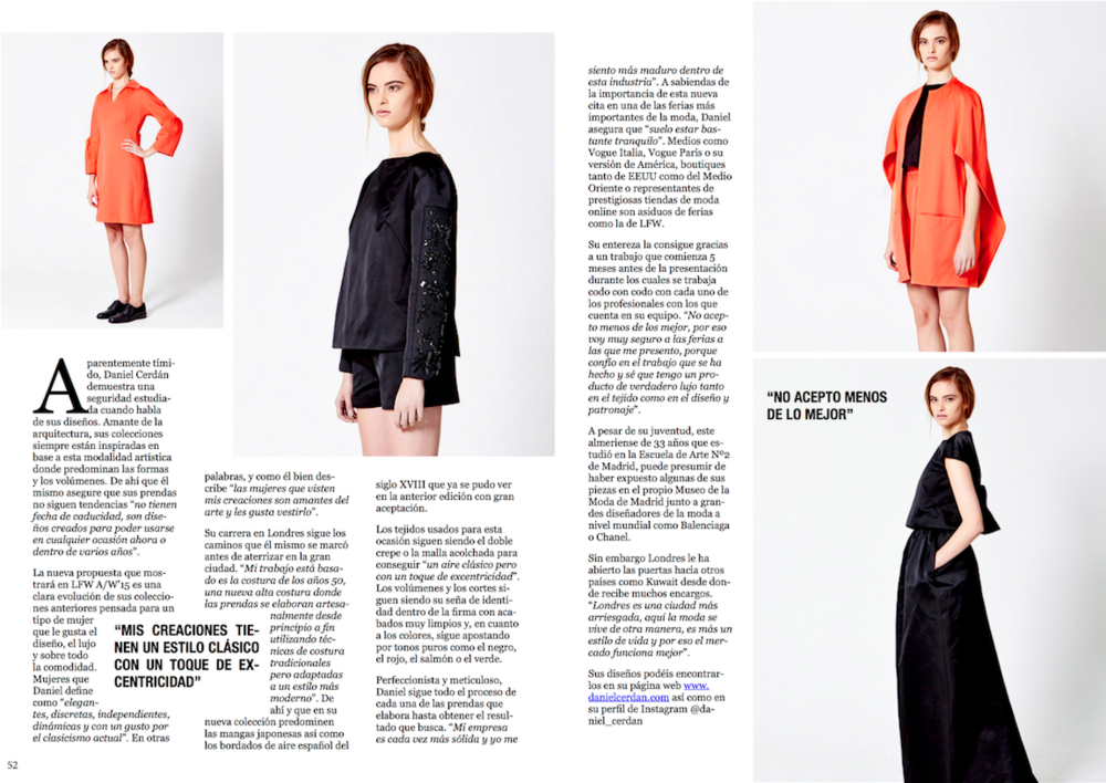 NOEmeLIA Magazine interview