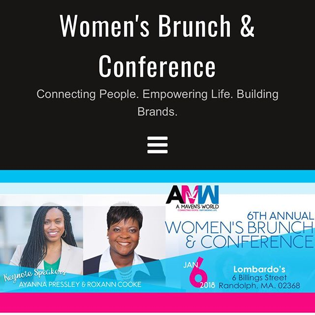 Lady Corporate is here and excited to be networking and learning from amazing women in Boston at the 6th Annual A Mavens World Women's Brunch and Conference @amavensworld