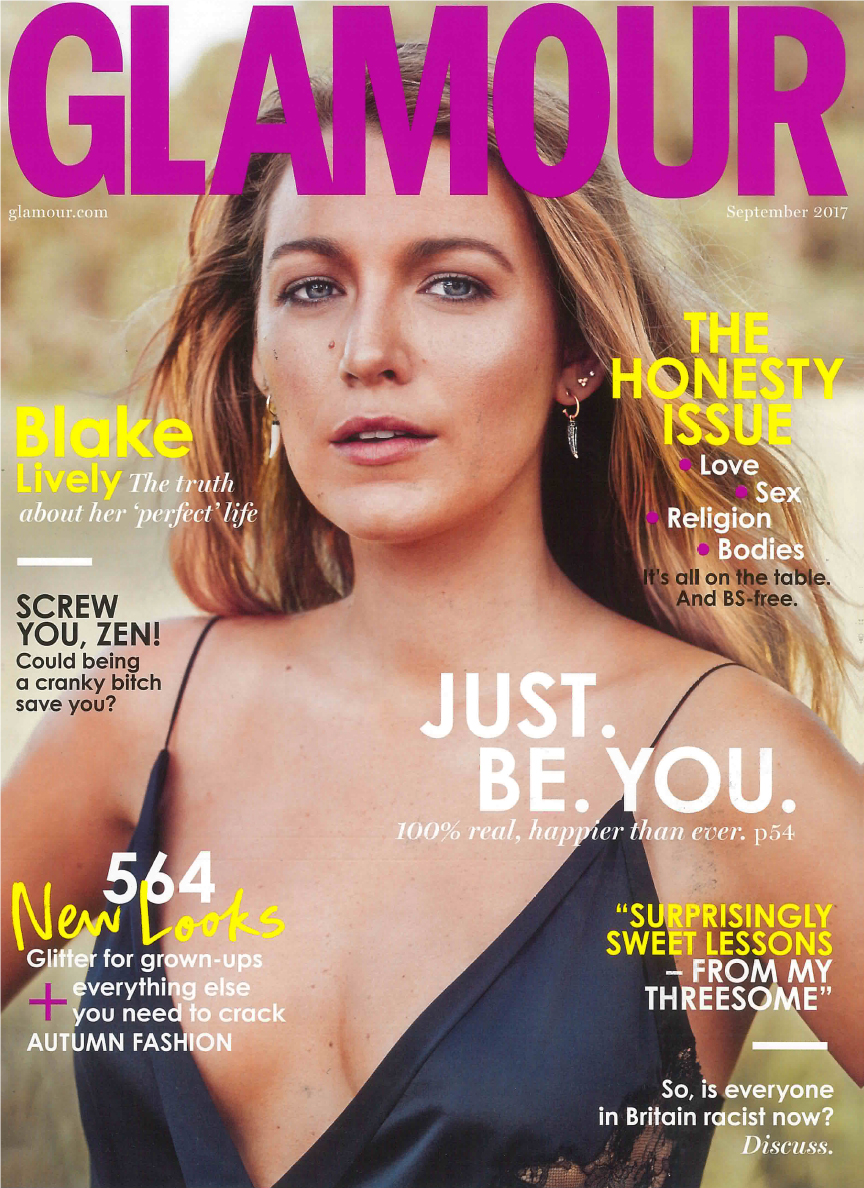 -   Our Stunning rose gold 'VEDA' earrings were featured in the September issue of  GLAMOUR MAGAZINE   These Art Deco inspired earrings are one of our most popular designs!  SHOP THE LOOK