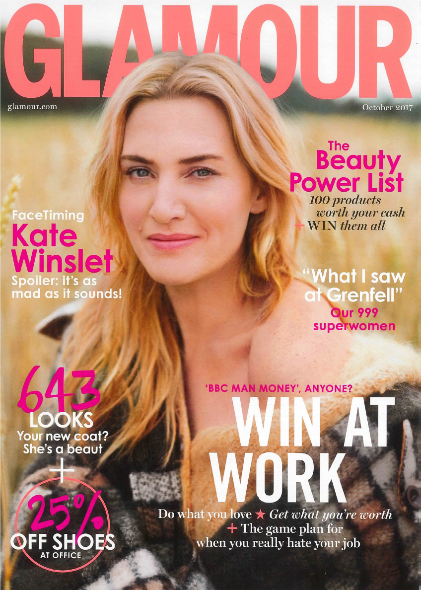 Featured in Glamour Magazine-Oct.2017! -