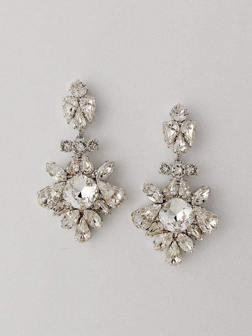 Wedding Chandelier Earrings  CHIARA — MARLENA DUPELLE