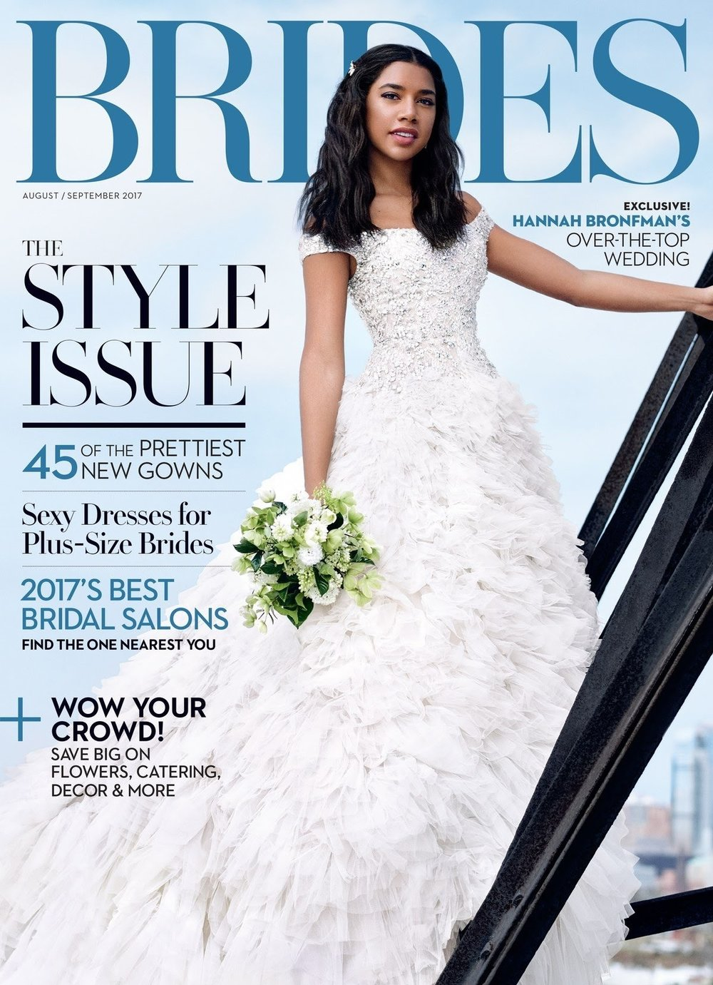 BRIDES MAGAZINE - 'Effortless style and sophistication coupled with superb quality make Marlena Dupelle's jewelry a must-have.'