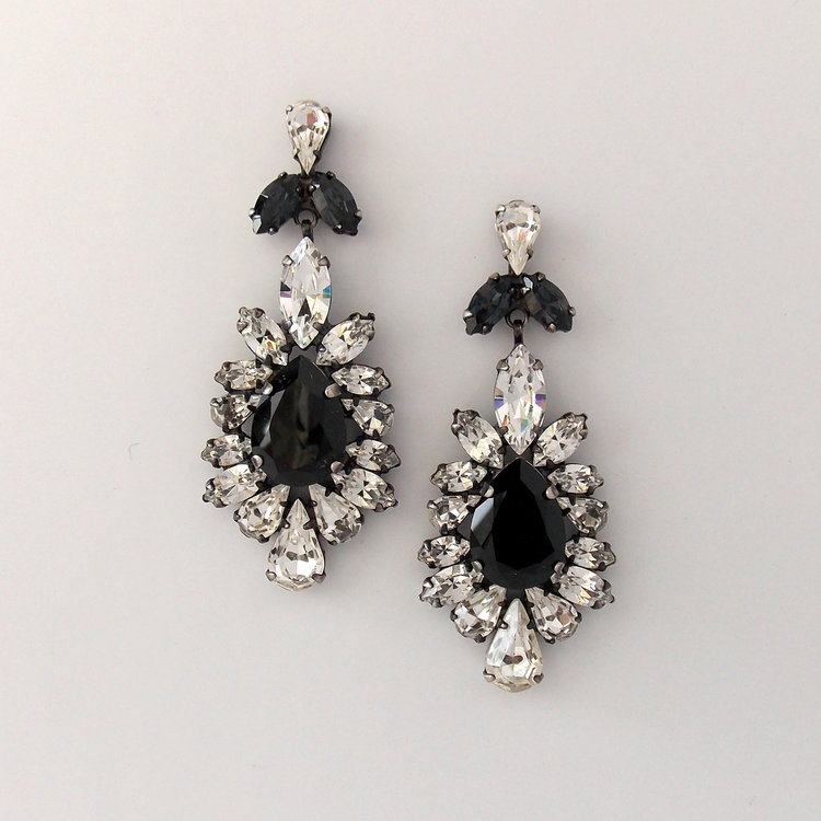 hautehammeredas versant product antique index silver earring earrings hammered drop haute