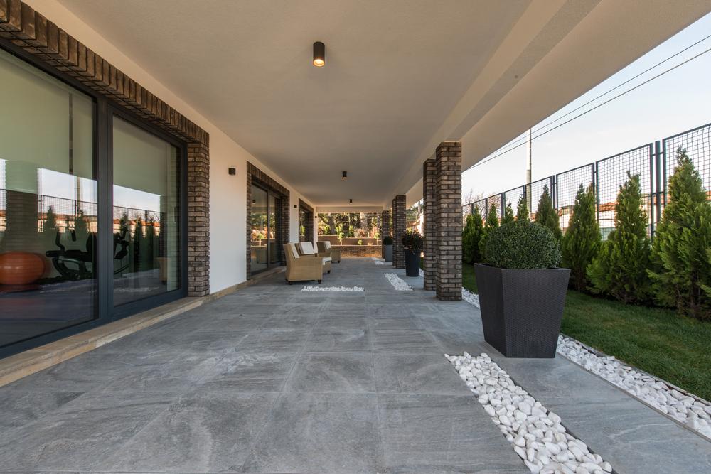 Terrasse céramique
