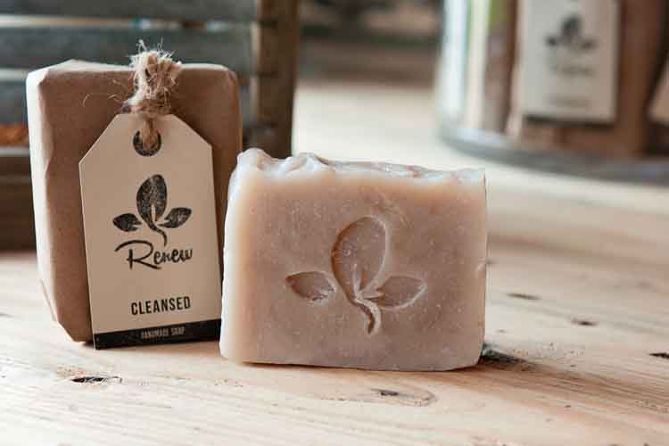 "Cleansed Soap  ""If we confess our sins, He is faithful and just to forgive us our sins and to cleanse us from all unrighteousness."" (1 John 1:9)  Liz's story: When Liz experienced the forgiveness of Jesus, His grace cleansed her.   Liz has chosen Sandalwood Vanilla to represent His cleansing grace.   PURCHASE SOAP HERE"