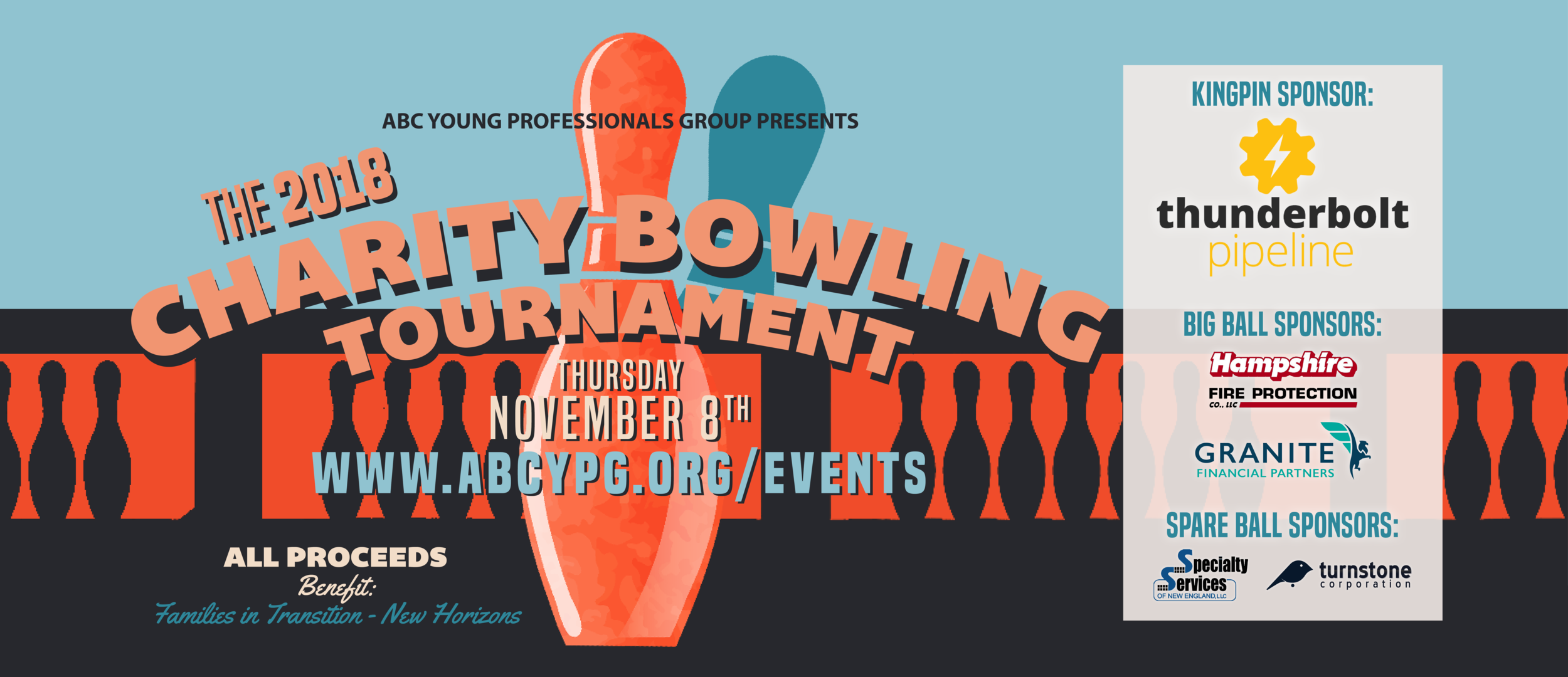 Free Transition Workshop In Concord >> Abc Ypg 2018 Charity Bowling Tournament Abc Young Professionals Group