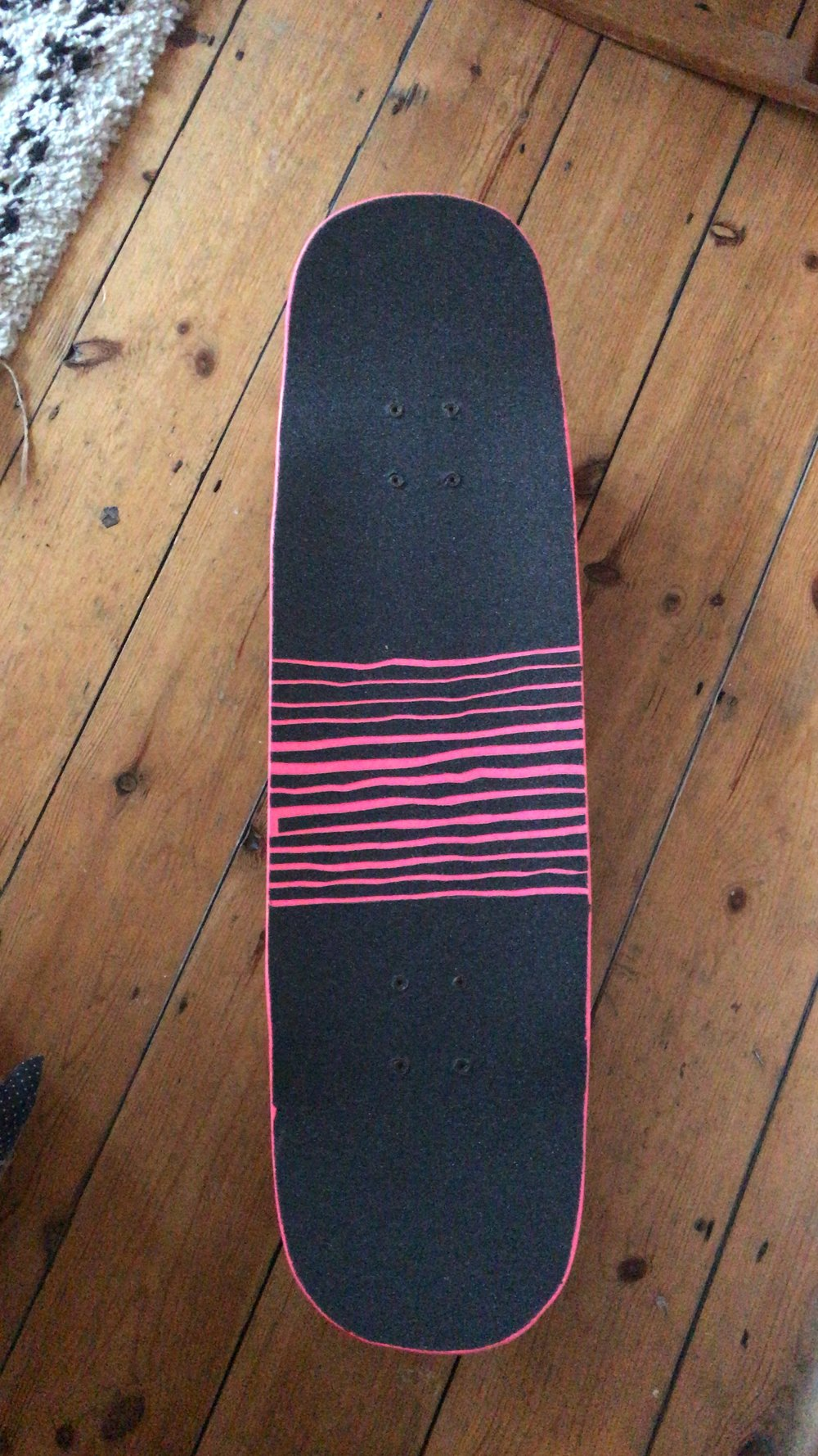 Added the custom grip tape job.