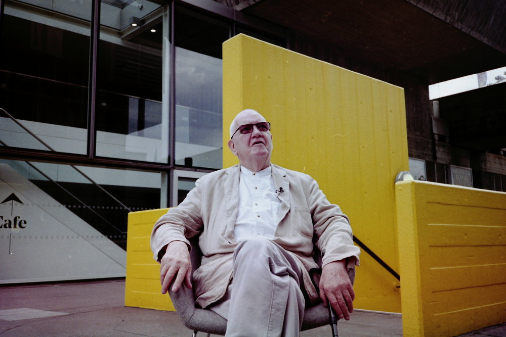 Dennis Crompton, the last remaining architect from Archigram, the architects responsible for the Southbank centre.