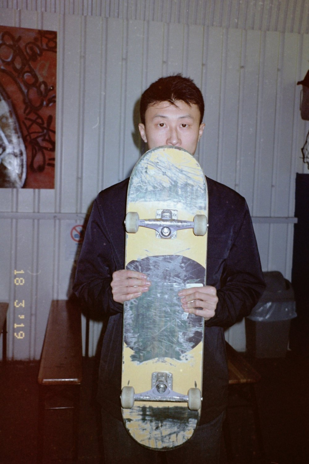 Bing Liu the director of Minding The Gap, a skate documentary that tackles issues of domestic abuse in a new and interesting way.