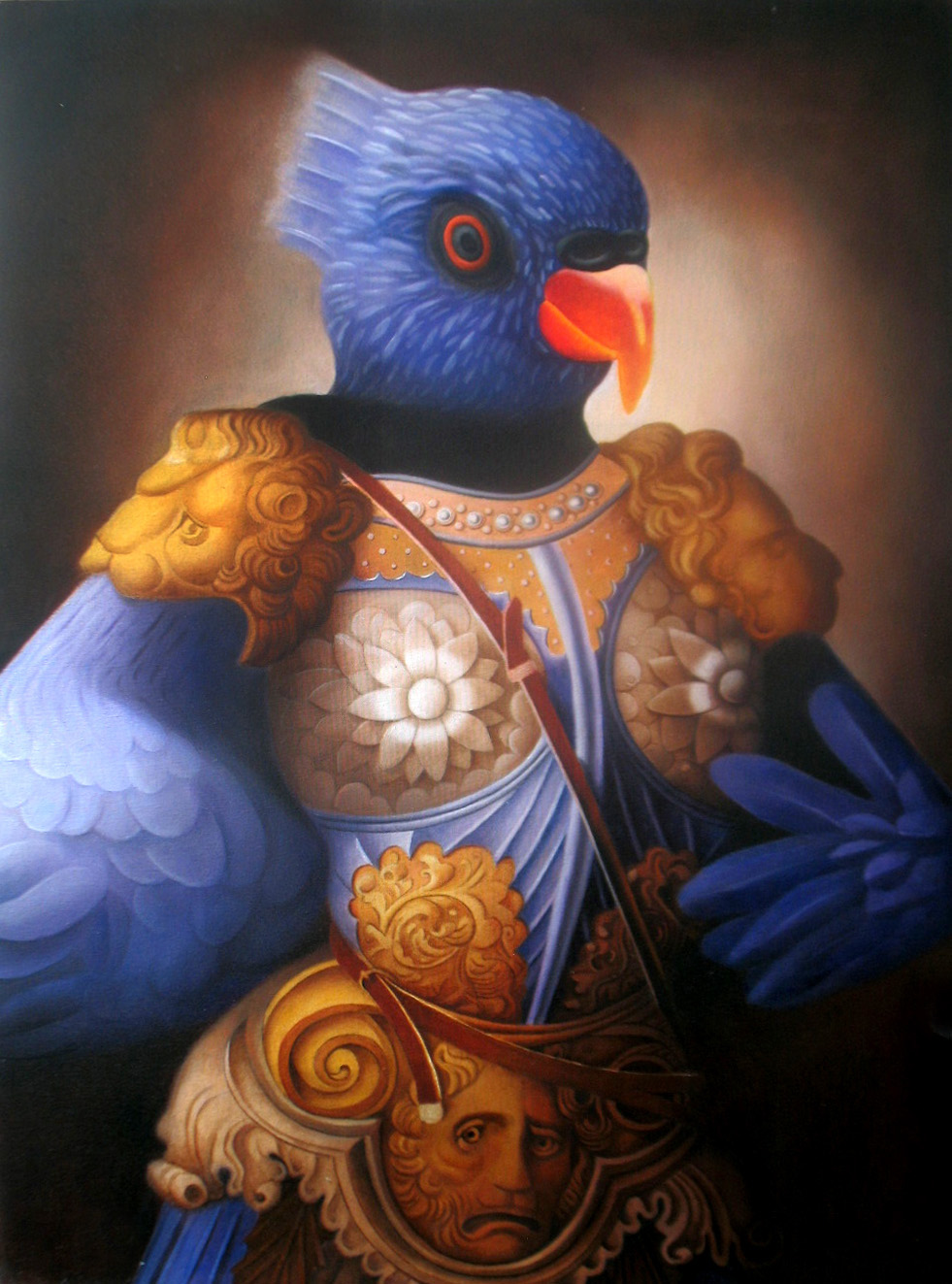 "Amy Hill, ""Warrior Bird"" (2014)"