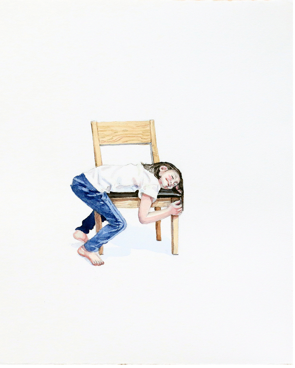 "Jee Hwang, ""A Drama With Chair #28"" (2015)"