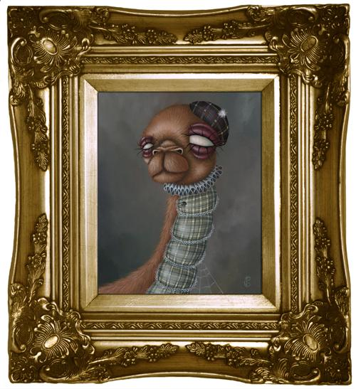"""Jessica Charlotte, """"Furry Ness"""" (2011)"""