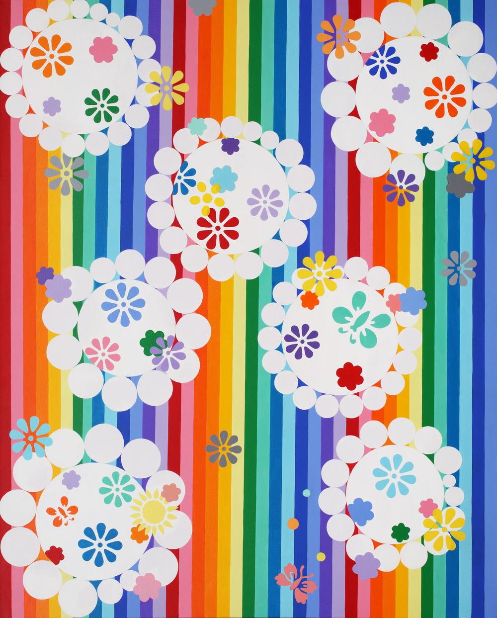 """Jihay Kang, """"Rainbow Mats"""" (2011)"""