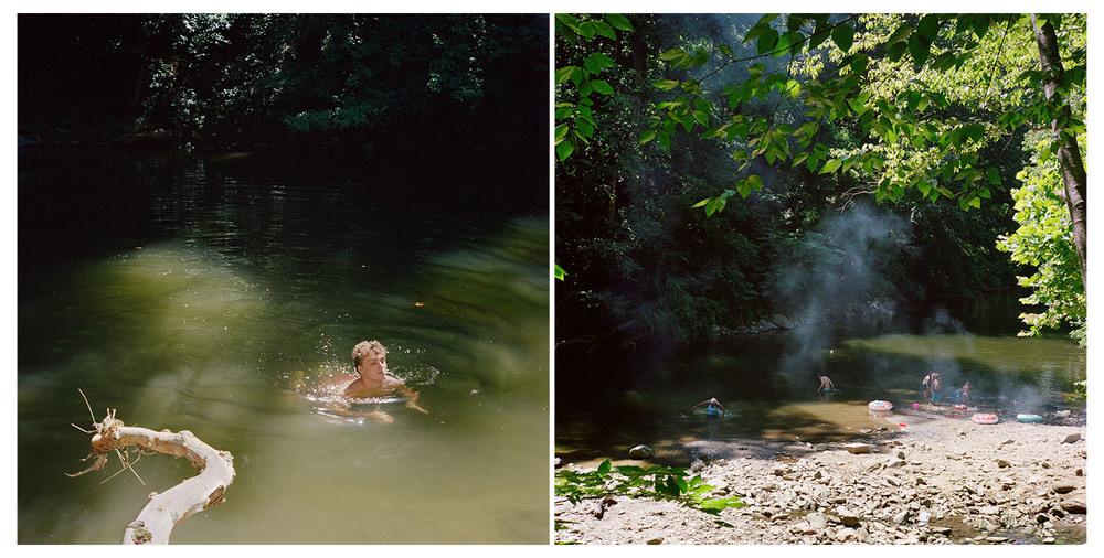 "Sarah Kaufman, ""Devil's Pool Diptych #2"" (2014)"