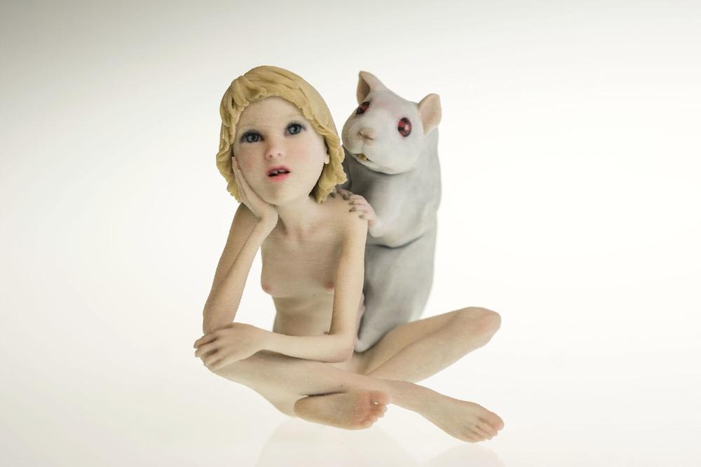 "Eric van Straaten, ""Humbelle Series - Lab Rat"" (2014)"