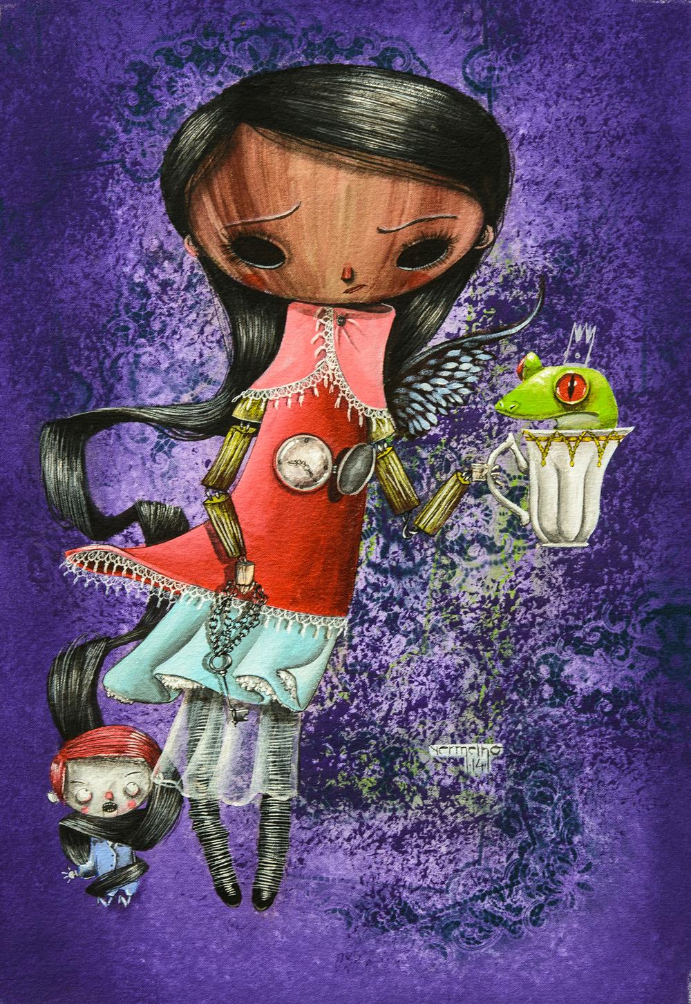 """Vermelho, """"Princesa Olimpia E Sua Rã (Princess Olimpia And Her Frog)"""" (2014)"""