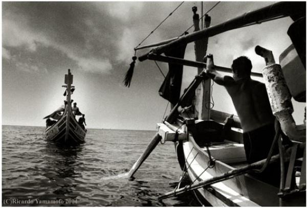 "Ricardo Yamamoto, ""Fishboat"" (2009)"