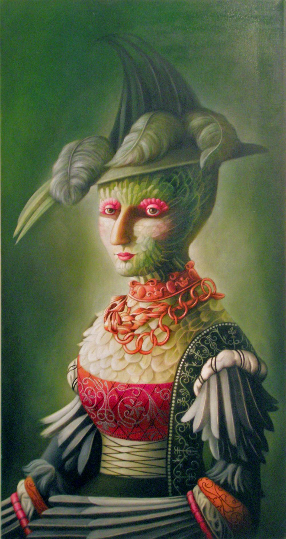 """Amy Hill, """"Fancy Bird"""" (2014)"""