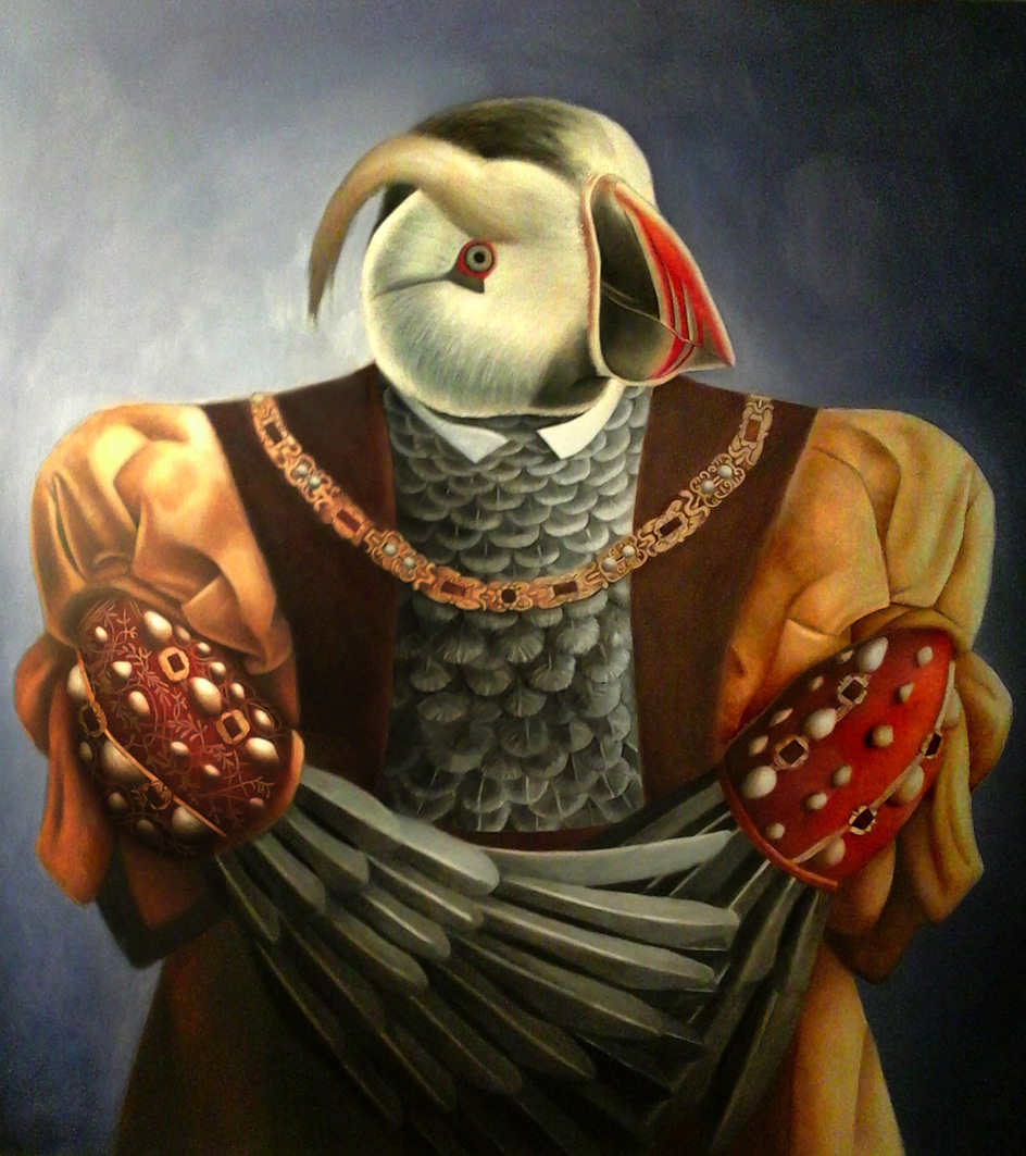 "Amy Hill, ""Birdie the Eighth"" (2014)"